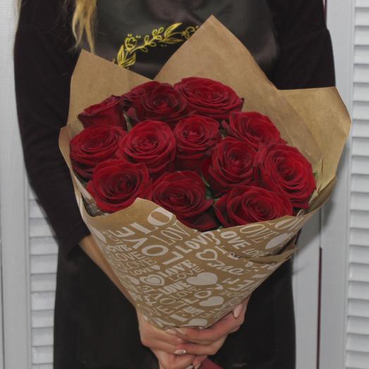 Классика с любовью: букеты цветов на заказ Flowwow
