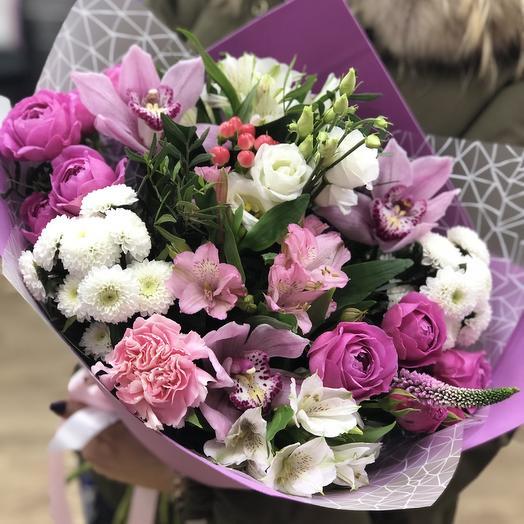 Ассорти С Любовью: букеты цветов на заказ Flowwow