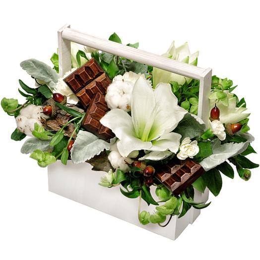Шоколад: букеты цветов на заказ Flowwow