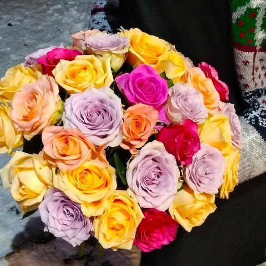 Микс 31 роза: букеты цветов на заказ Flowwow