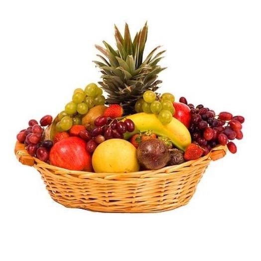 Корзина с фруктами - 1: букеты цветов на заказ Flowwow