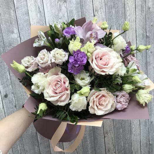 Сборный букет «От всей души»: букеты цветов на заказ Flowwow