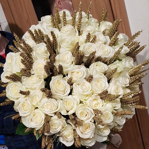 Звездный шарм: букеты цветов на заказ Flowwow