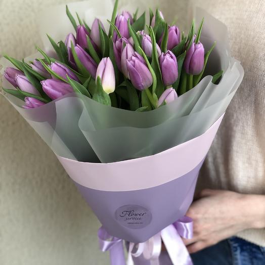 Флирт 25 тюльпанов