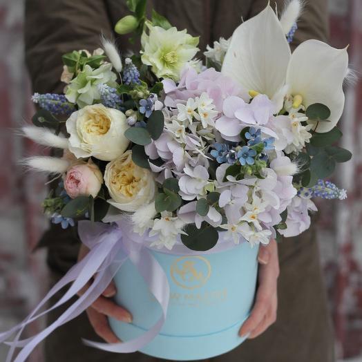 Лавандовое облако: букеты цветов на заказ Flowwow