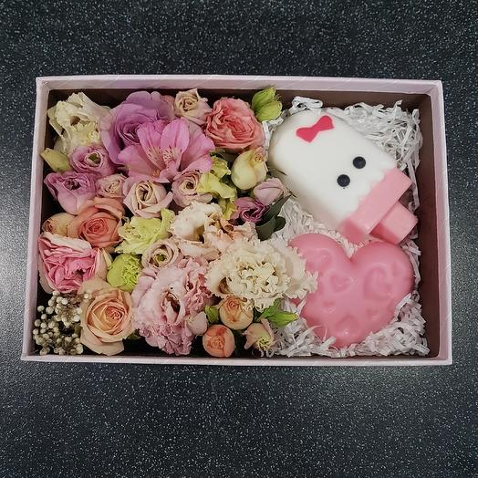 Розовые оттенки: букеты цветов на заказ Flowwow