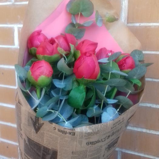 Пиончик: букеты цветов на заказ Flowwow