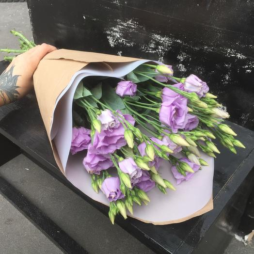 Букет из эустомы 🥰: букеты цветов на заказ Flowwow