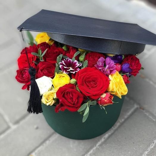 Коробочка к 1 сентября: букеты цветов на заказ Flowwow