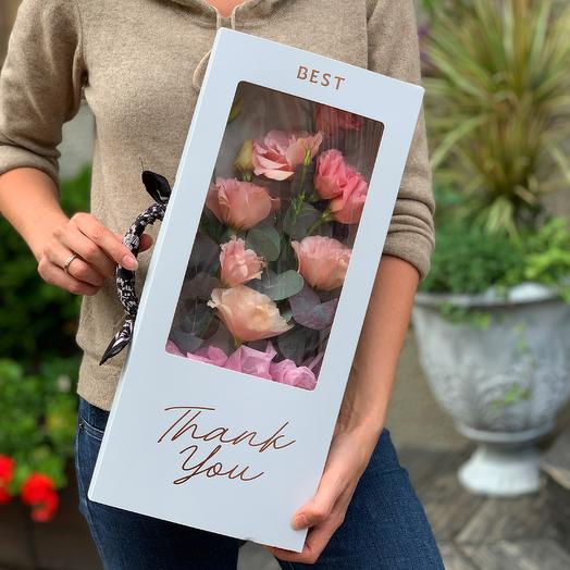 Стильный BOX: букеты цветов на заказ Flowwow