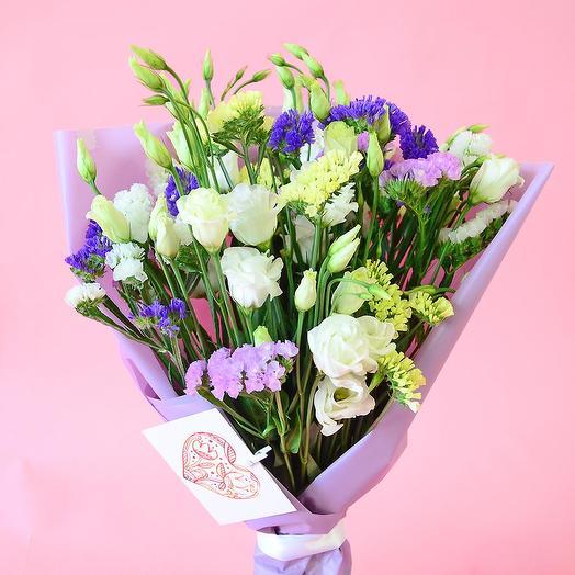 """Букет """"Черничный пунш"""": букеты цветов на заказ Flowwow"""