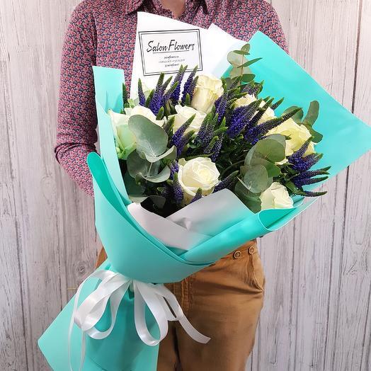 Тиффани Вайт: букеты цветов на заказ Flowwow