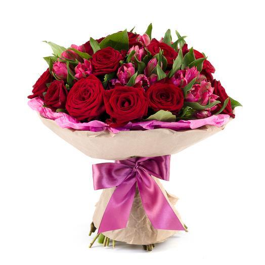 """Букет """"Привет любимой"""": букеты цветов на заказ Flowwow"""