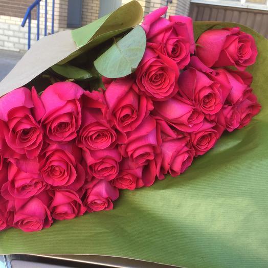 Букет «Пинк флойд 25»: букеты цветов на заказ Flowwow