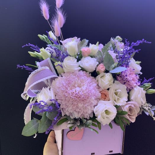 Мамочке💜: букеты цветов на заказ Flowwow