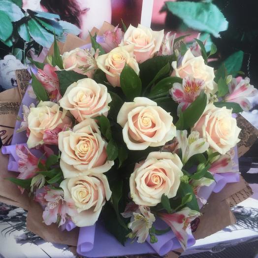 "Bouquet ""Tenderness"": flowers to order Flowwow"