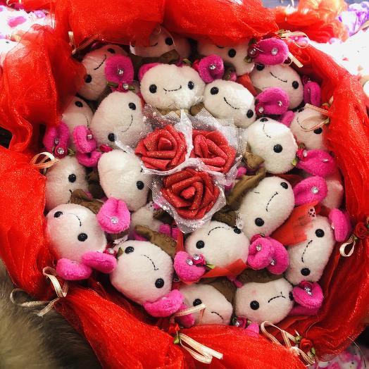 Букет игрушек: букеты цветов на заказ Flowwow