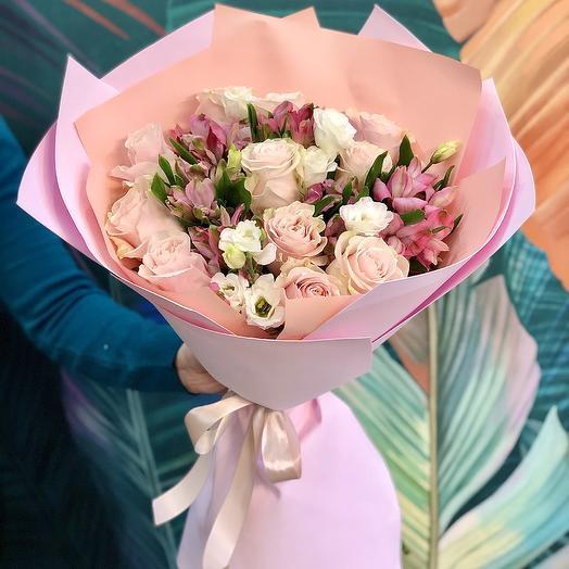 Букет «Сладкий десерт»: букеты цветов на заказ Flowwow