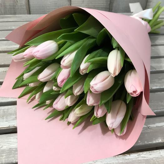 """Букет тюльпанов """"Твоя красивая улыбка"""""""