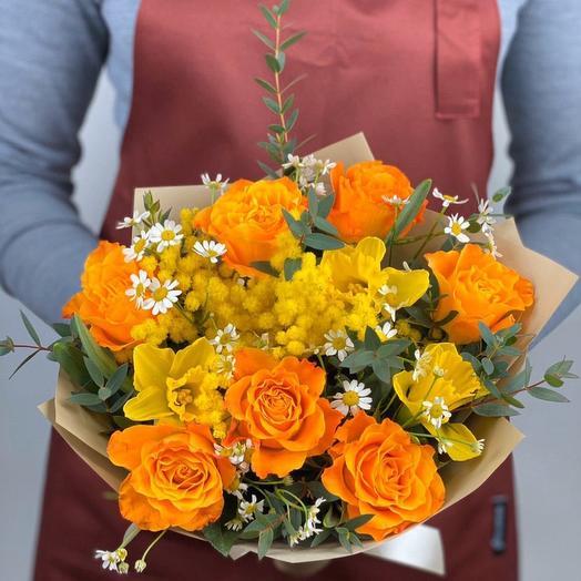 Снова весна))): букеты цветов на заказ Flowwow