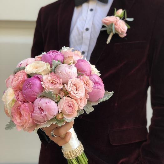 Свадебный букет 5: букеты цветов на заказ Flowwow