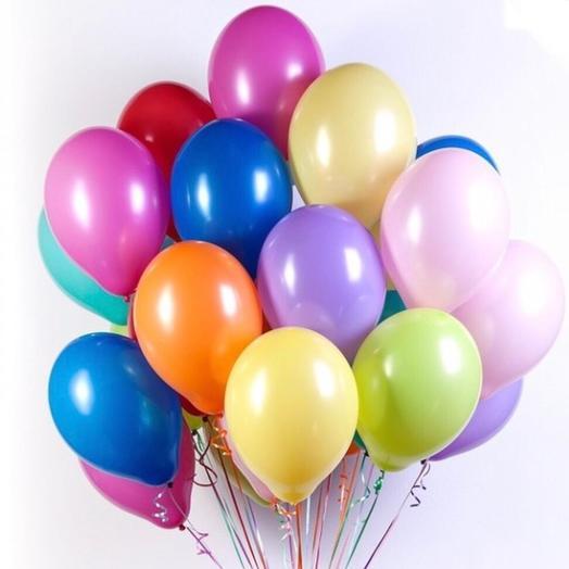 Воздушные шары цветные: букеты цветов на заказ Flowwow