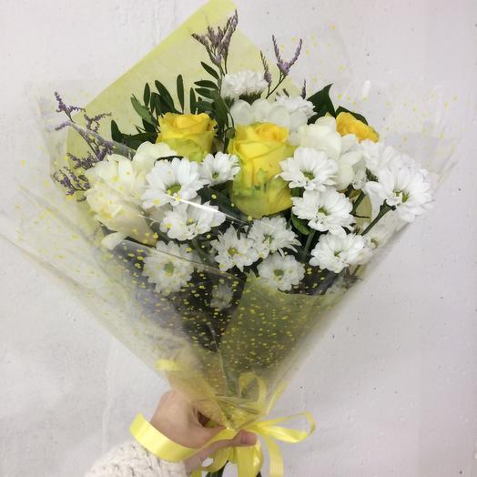 Лучик солнца: букеты цветов на заказ Flowwow