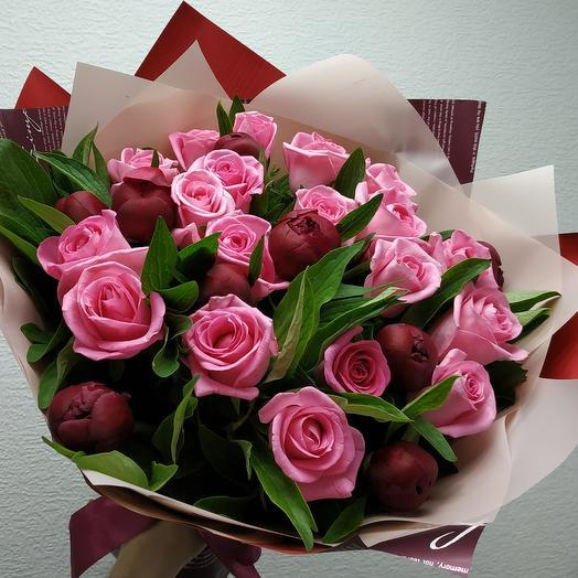 Фраппе: букеты цветов на заказ Flowwow