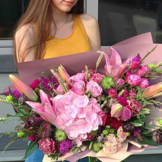 """Bouquet """"Colorful"""""""