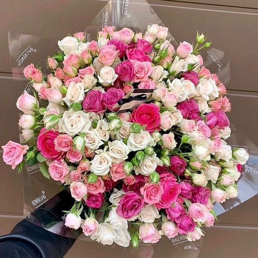 Микс роз