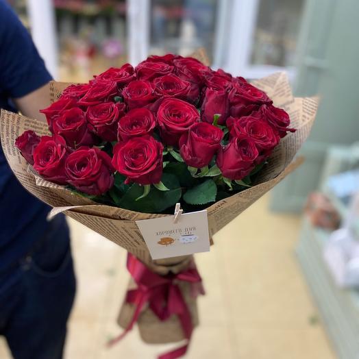 Букет роз «Только ты»