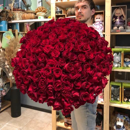 Букет 151 роза 🌹
