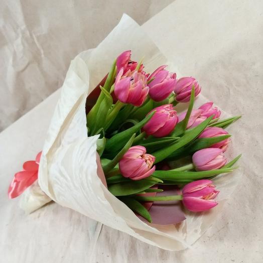 Букет тюльпанов ( 11 шт.)