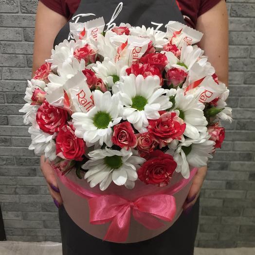 Цветы в коробке 00043793