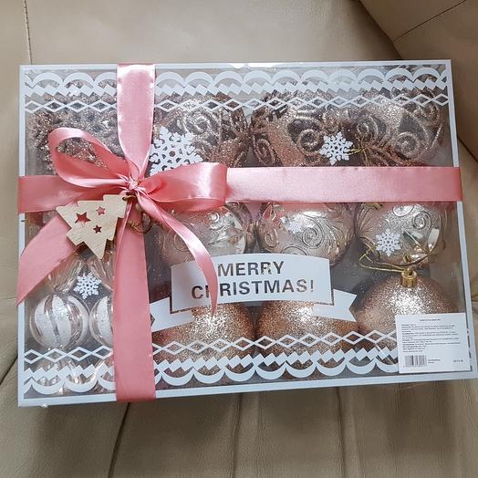 Подарочный набор украшений для ёлки