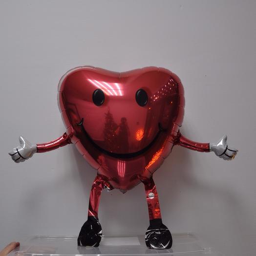 Ходячий шар «Сердце»