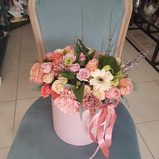 "Цветы в коробке ""Элла"""