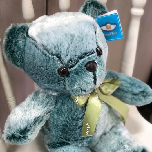 Мягкая игрушка «Медведь Изумруд»