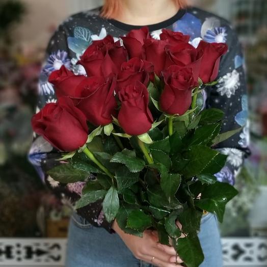 Эксплорер 13 шт роза красная