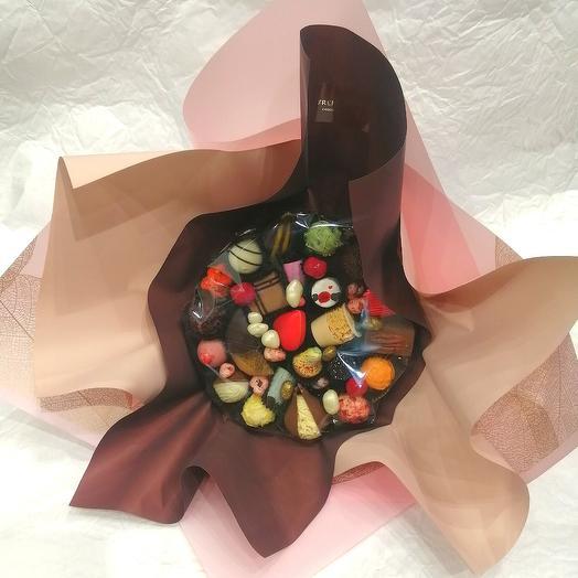 Букет из конфет ручной работы FRENCH KISS SPB 20022020.9
