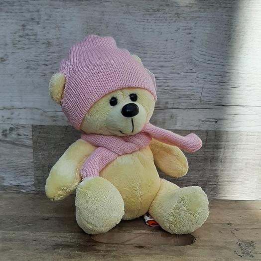 Мишка Топтыжкин в розовой шапочке
