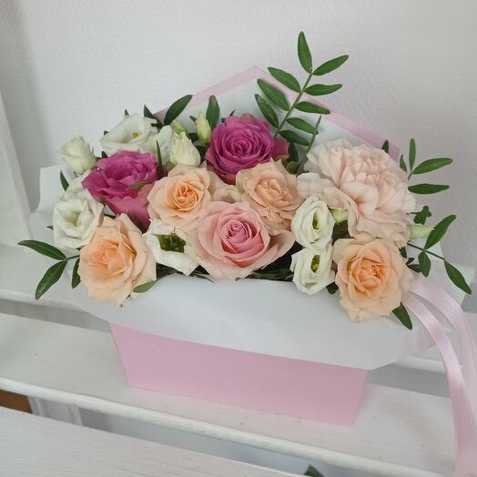 """Нежность роз"" В конверте"