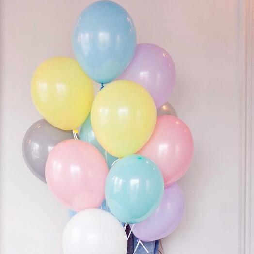 Нежный микс шаров 15 шт