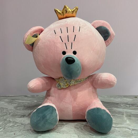 Игрушка Медведь короной