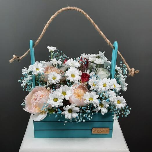 Цветы  в ящике,для всех