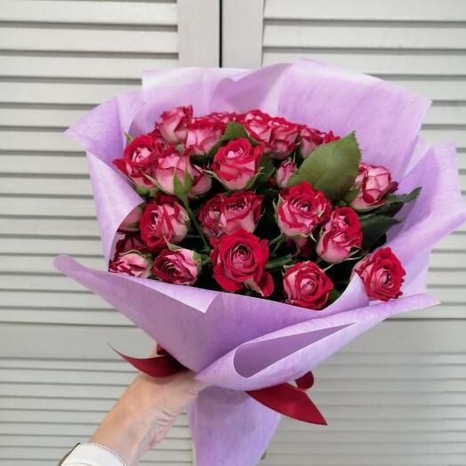 Букет Кустовые розы