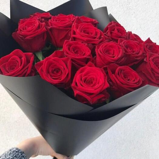 15 красных