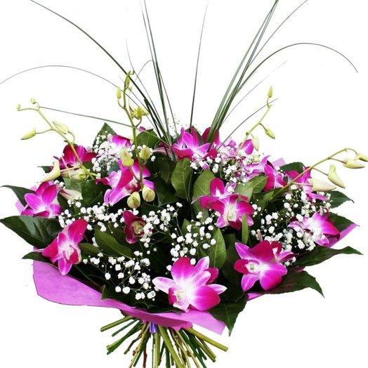 Орхидеи белые букет доставка москва, люкс мариуполь цветы