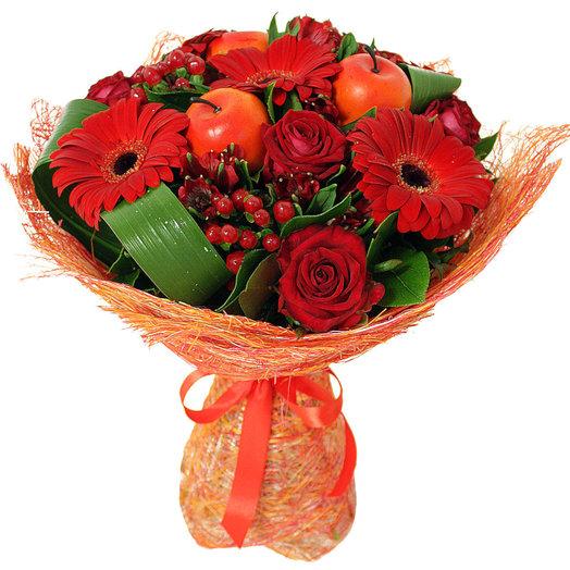 Букет Осенние краски: букеты цветов на заказ Flowwow