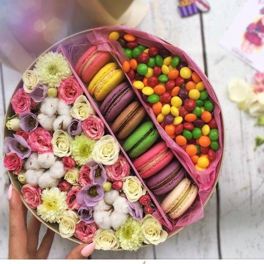 Цвета радуги: букеты цветов на заказ Flowwow